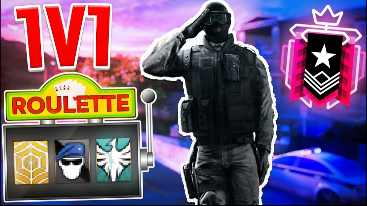 *CHAMPION* ROULETTE 1V1  - Rainbow Six Siege