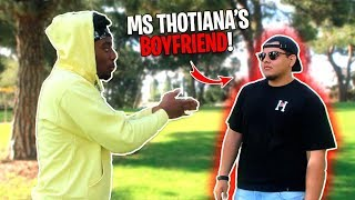 I Met the Weird Girl's Ex-Boyfriend Face to Face... Fight for Miss Thotiana!?!