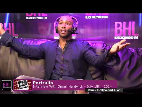 Portraits w Omari Hardwick  July 18th 2014  Black Hollywood Live