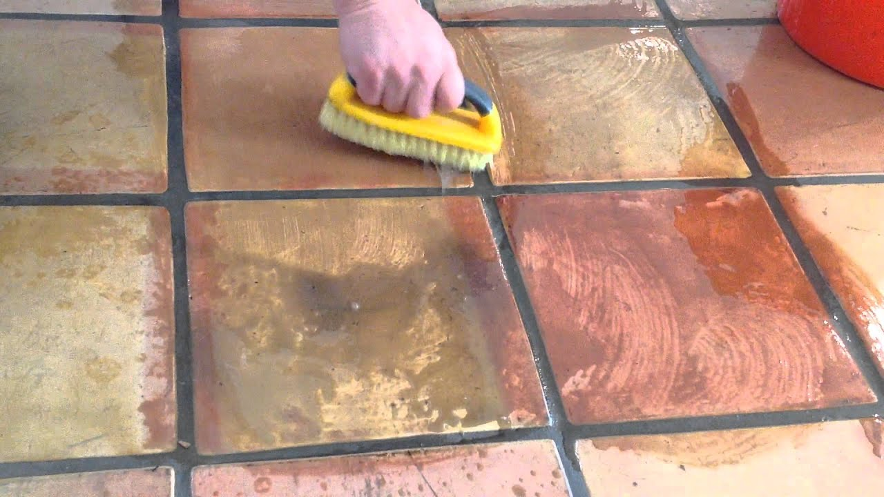 Professional saltillo tile cleaning services and refinishing demo professional saltillo tile cleaning services and refinishing demo youtube dailygadgetfo Choice Image