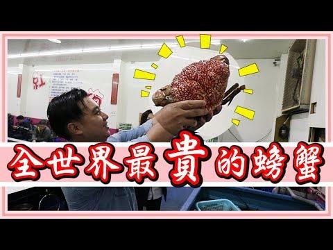 #價值一萬元台幣螃蟹!真的吃起來很美味嗎?【老婆】