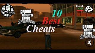 GTA San Andreas - Top 10 Best PC Cheats | Army Helicopter Cheats | Girlfriends Mods Cheats gta sa