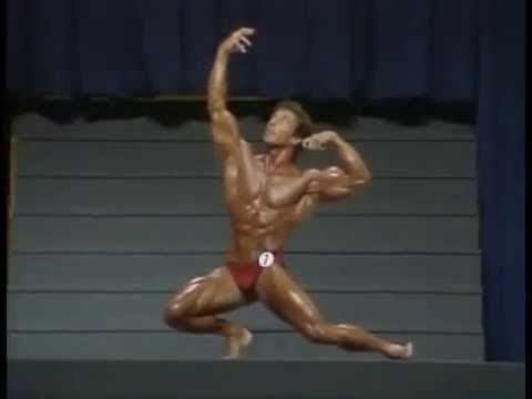 Frank Zane Posing Mr Olympia 1983 Final Amazing Routine