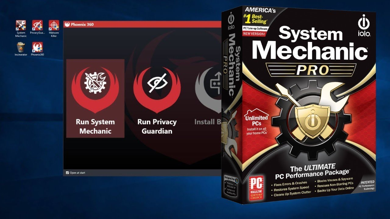 System Mechanic Pro Review   Full Demo of Software - YouTube