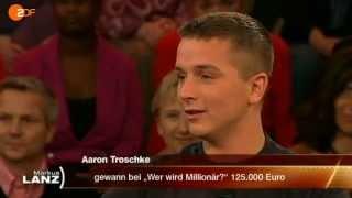 Unser Aaron Troschke bei Markus Lanz (4v4)