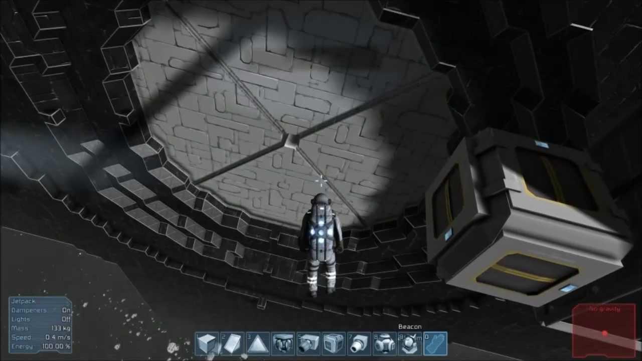 Space Engineers Ep03 Working Piston Door Youtube