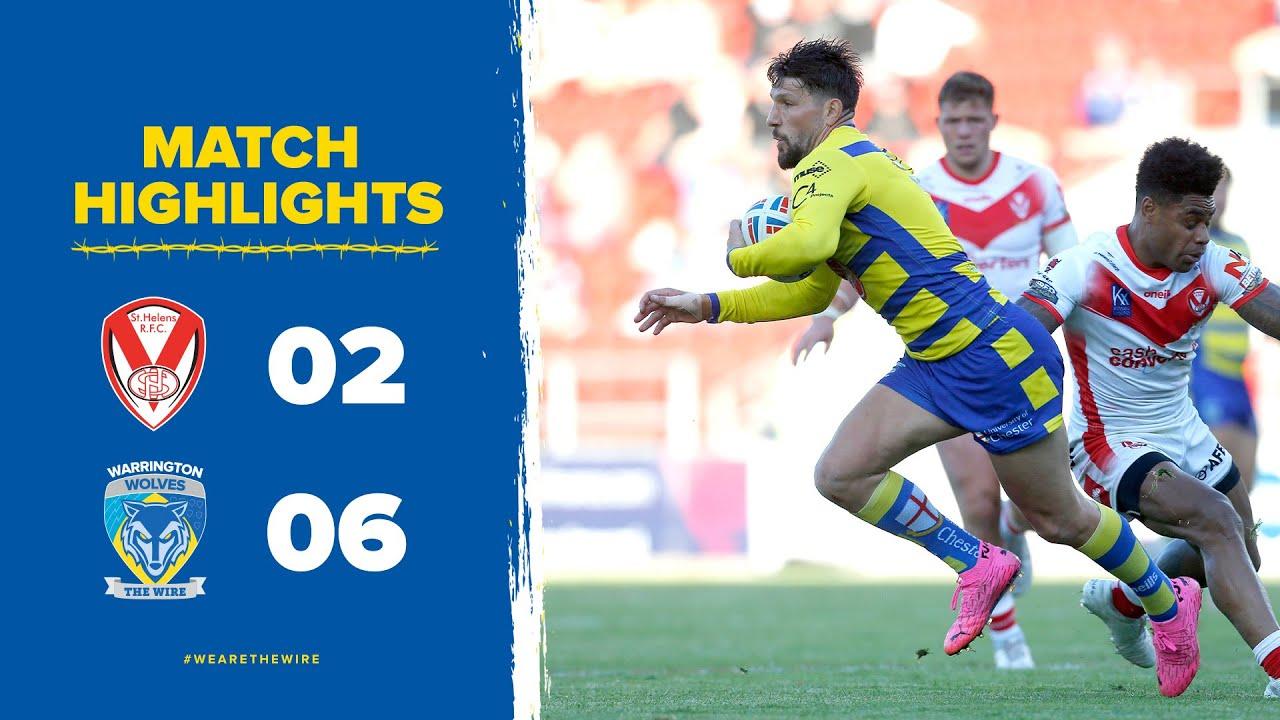 Highlights Round 10: St Helens v Warrington