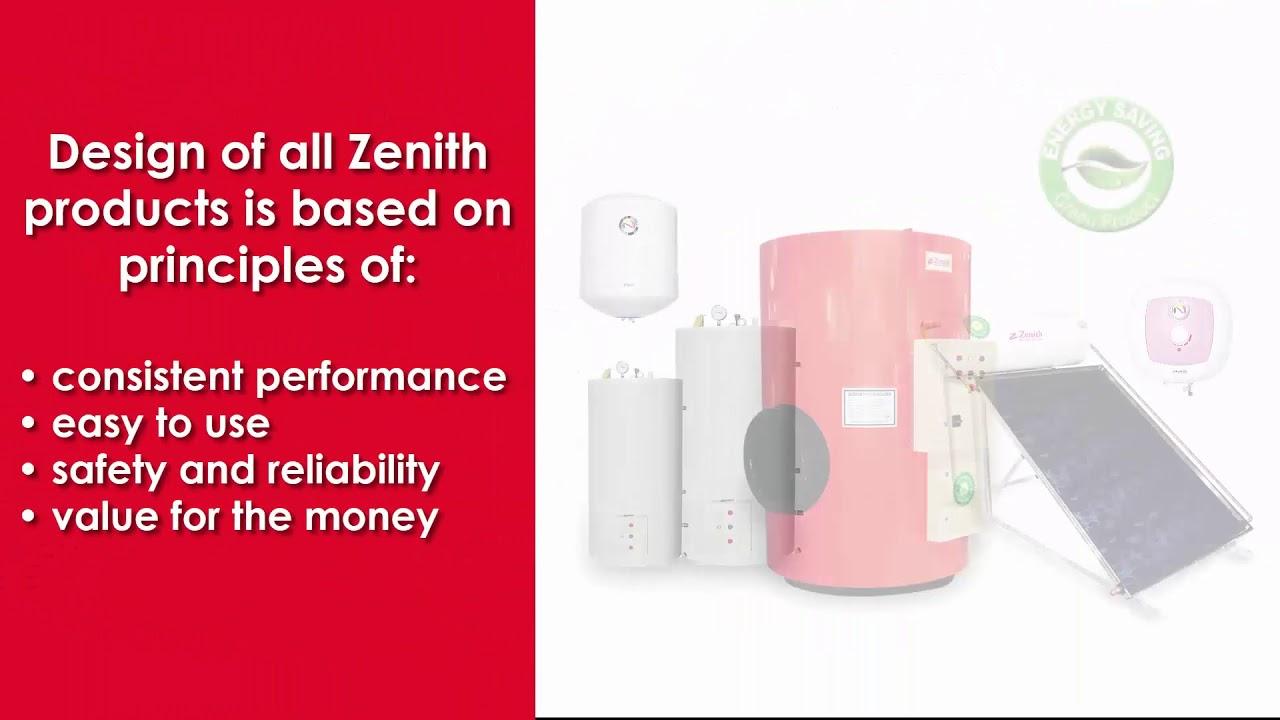 E Zenith Water Heater Energy Saver