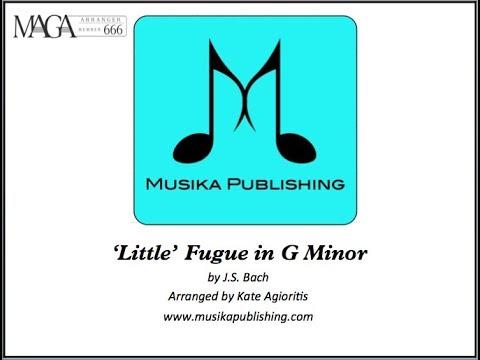 'Little' Fugue in G Minor (J.S. Bach) - Saxophone Quartet