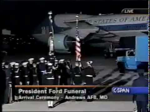 State Funeral of President Gerald R  Ford Part 1 360p