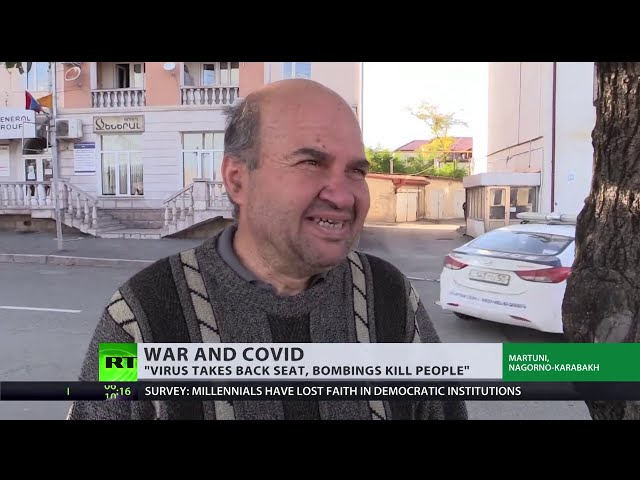 Fighting pandemic in battle zone | COVID spreads in war-ravaged Nagorno-Karabakh