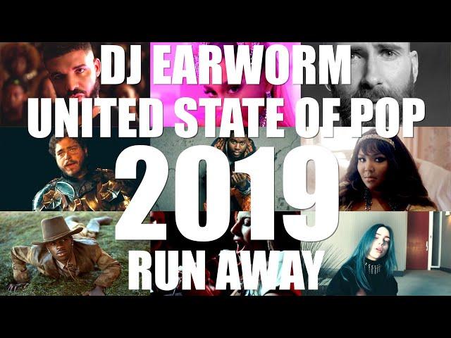 DJ Earworm Mashup - United State of Pop 2019 (Run Away)