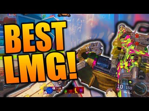 Black Ops 3: BEST LMG CLASS SETUP! Best Light Machine Gun in Black Ops 3! (BRM Class Setup)