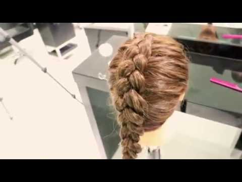 How To: Dutch Braid With The Straddle-Pinch-Twist-Place Technique