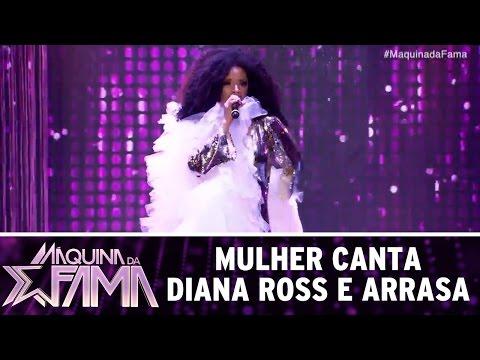 Participante canta Diana Ross e arrasa | Máquina da Fama (13/03/17)