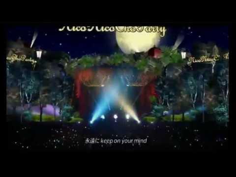 Isshin Furan~Miku, Rin, Luka~P8~S8~NicoNicoMegaParty2013~Eng Subs~HD~LIVE~3D