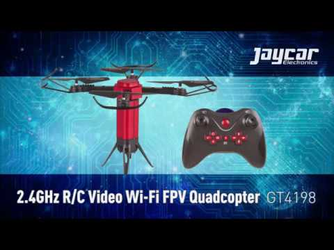 2.4GHz R/C Video Wi-Fi FPV Quadcopter - GT4198