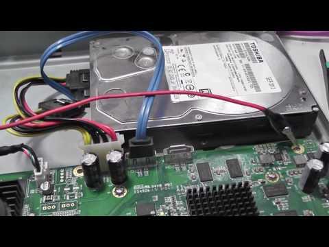 Диагностика видеорегистратора Dahua DH-DVR1604HF-A Восстановление прошивки