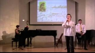 *Rozhinkes mit Mandlen* 2012 LIVE - Yiddish Lullaby Song - Maksim Levinsky *ראָזשינקעס מיט מאַנדלען*