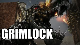 Transformers: Rise of the Dark Spark - Grimlock Gameplay