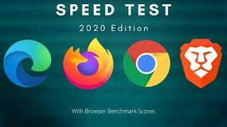 Edge Vs Chrome Vs Firefox Vs Brave Speed Test   2020 Edition
