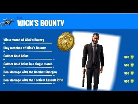 forntite-:-nouveau-mode-de-jeu-:-dÉfis-!-john-wick's-bounty-challeneges