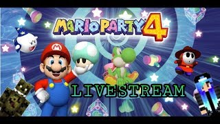 Mario Party 4 - Stream ~ Folge 2: Koopa´s Strandbrett und Shy Guy´s Dschungelbrett