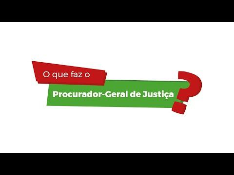 O que faz o Procurador-Geral de Justiça?