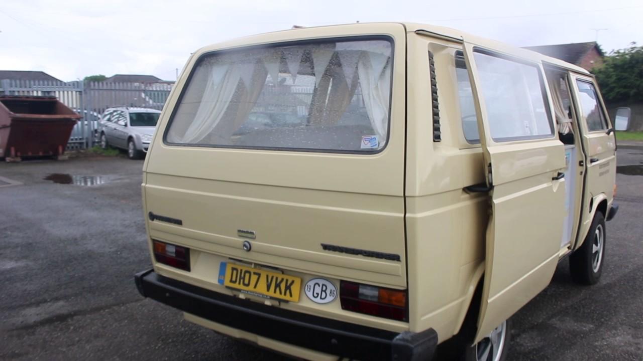 1986-VW T25 TRANSPORTER CAMPER VAN-CLWYD AUCTION CENTRE EWLOE