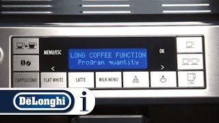How to make latte with your De'Longhi PrimaDonna XS ETAM 36.365 coffee machine