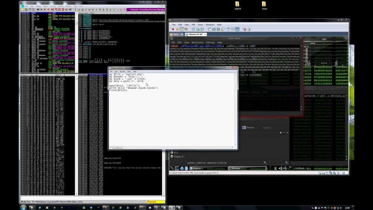 Image result for immunity debugger buffer overflow