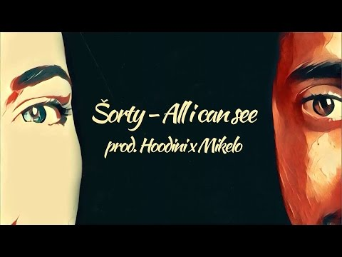 ŠORTY - ALL I CAN SEE (prod. HOODINI x MIKELO) LYRICS VIDEO 2016