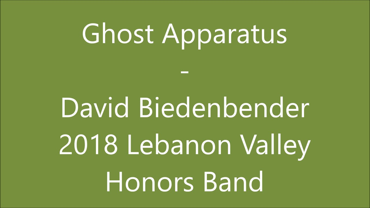 the ghost apparatus band