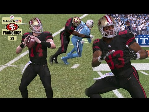 Madden NFL 17 San Francisco 49ers Franchise - EP23 (Year 2, Week 6 vs Titans)