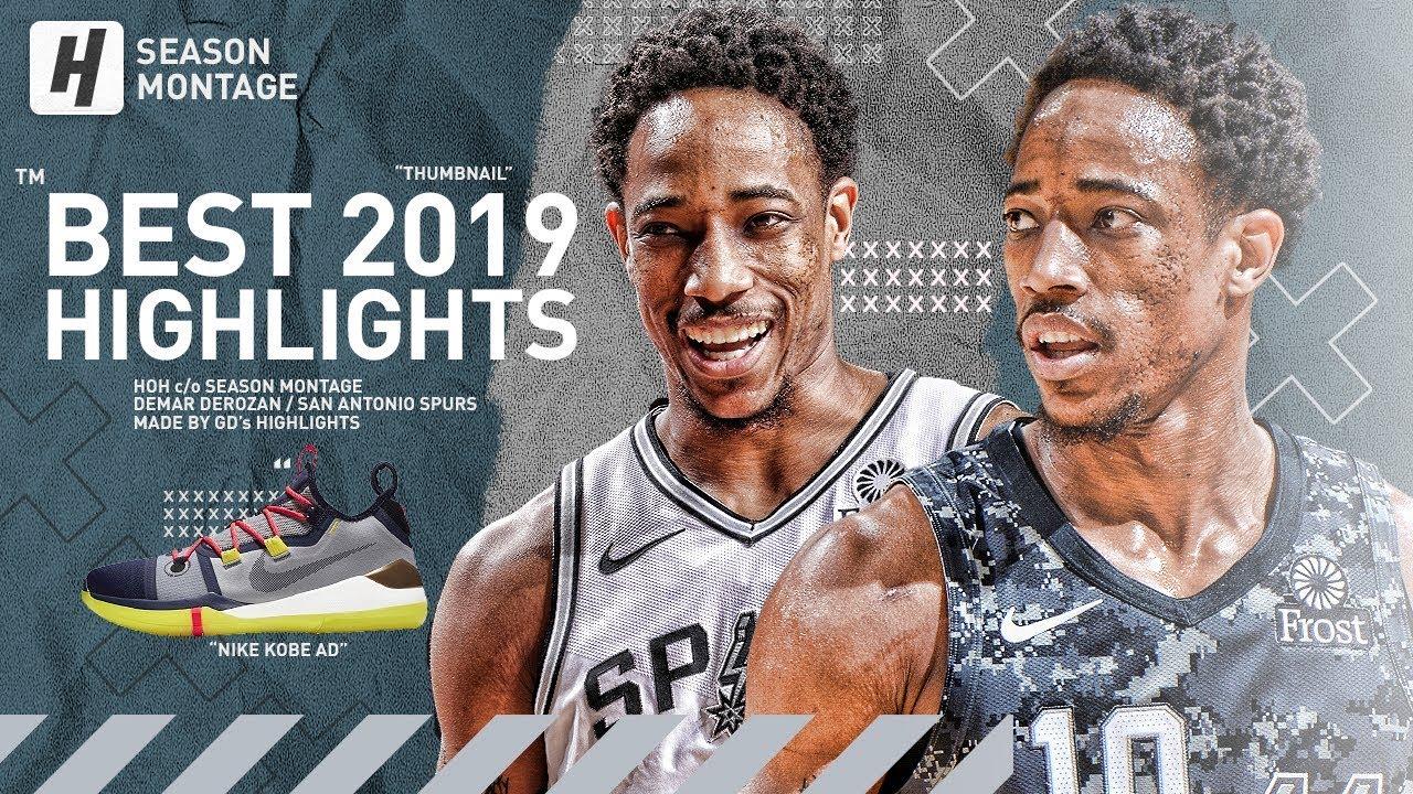 DeMar DeRozan BEST Highlights & Moments from 2018-19 NBA Season!
