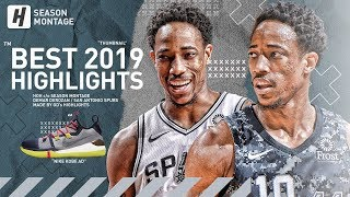 DeMar DeRozan BEST Highlights & Moments from 2018-19 NBA Season!