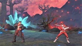 Ryu vs Red Ranger (Hardest AI) - Power Rangers: Battle for the Grid