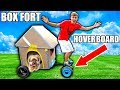 BOX FORT HOVERBOARD