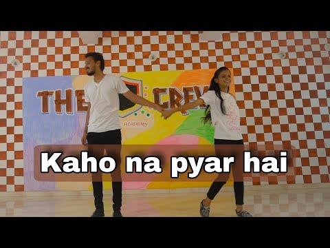 Kaho na Pyar Hai | Sachin Panchal ft. Shradhha Thakor | The S Crew Dance Academy