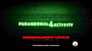Billboard MTV Paranormal Activity 4