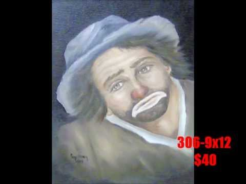 CLOWN PAINTINGS.wmv