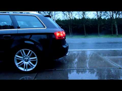 Beautiful sound of an Audi S4 4.2 V8