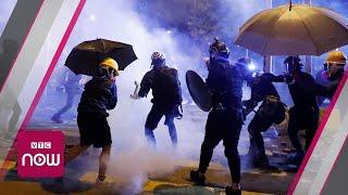 """Hong Kong biểu tình: Sinh viên """"đua nhau"""" về nước"""