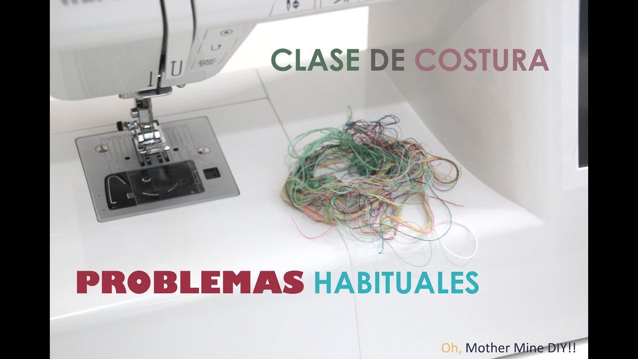 Solucionar los problemas con la máquina de coser - YouTube