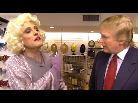 Long Lost Footage Shows Rudy Giuliani Dressed In Drag with Donald Trump