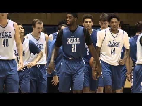1st Practice: Duke Basketball Never Stops