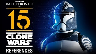 15 The Clone Wars references in Star Wars Battlefront II
