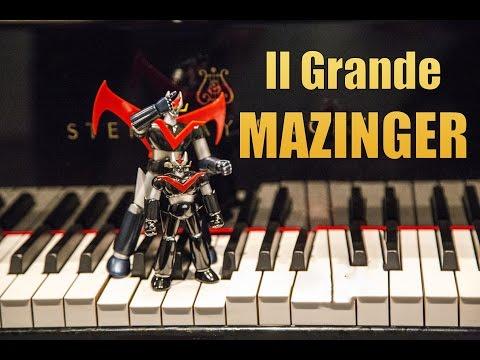 Il Grande Mazinga - Mazinger - sigla -  piano cover by Jazzy Fabbry - F Migliacci - Superobots