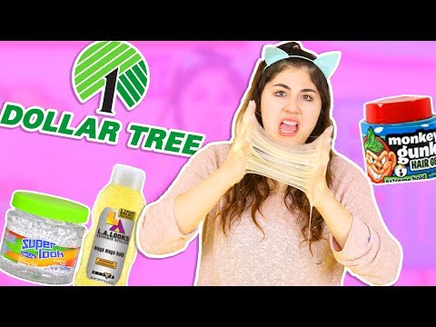 BEST SLIME DEACTIVATOR EVER FOR $1!! Testing dollar store hair gel for hard slimes  Slimeatory #260