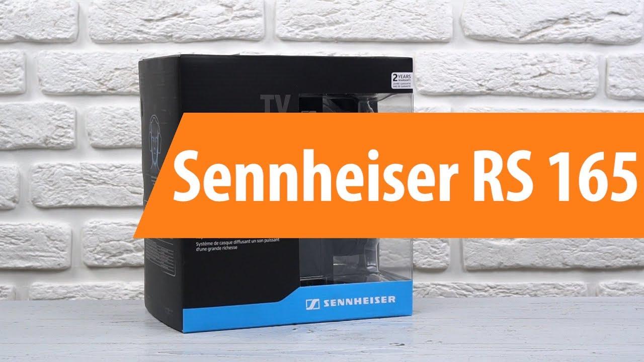 распаковка Sennheiser Rs 165 Unboxing Sennheiser Rs 165 Youtube
